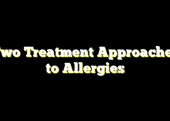 Two Treatment Approaches to Allergies